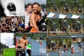 Liquidforce wakeboard rider Nick Johnson